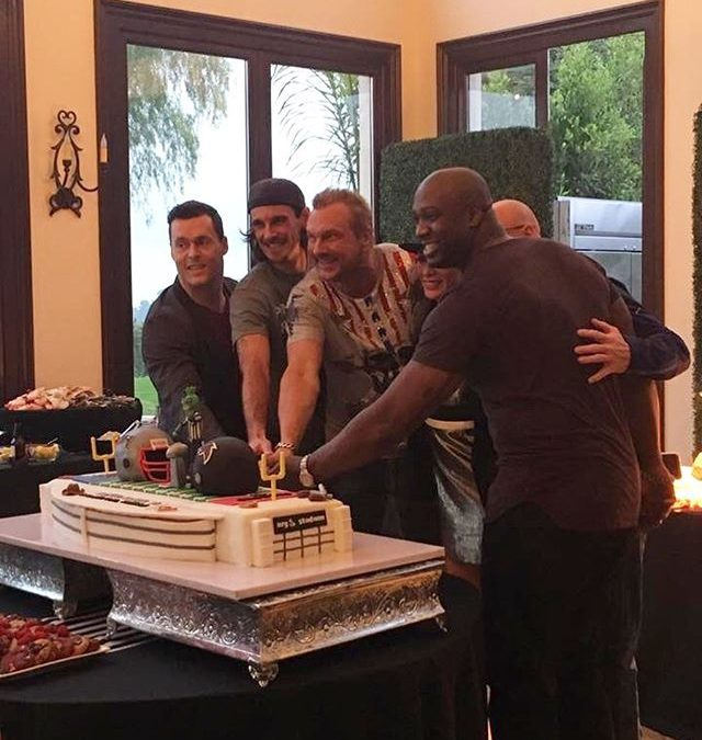 In honor of the super bowl happening this weekend here is a throwback of @bigmike Super Bowl party that was almost cancelled  You are missing out If you haven't been to one of his parties  . . .